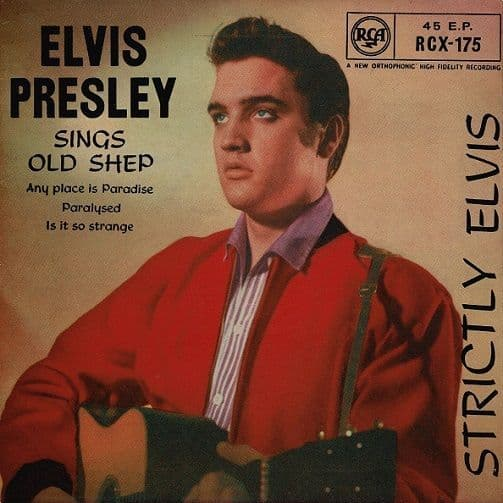 ELVIS PRESLEY Strictly Elvis EP Vinyl Record 7 Inch RCA Victor 1964