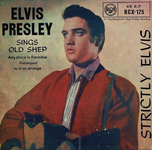 ELVIS PRESLEY Strictly Elvis EP Vinyl Record 7 Inch RCA Victor 1965