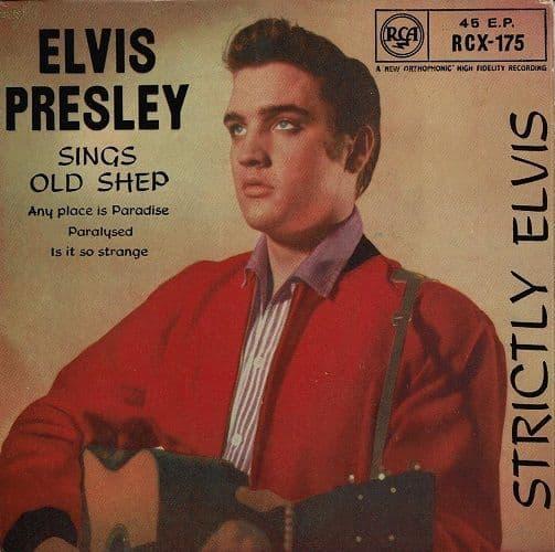 ELVIS PRESLEY Strictly Elvis EP Vinyl Record 7 Inch RCA Victor 1969