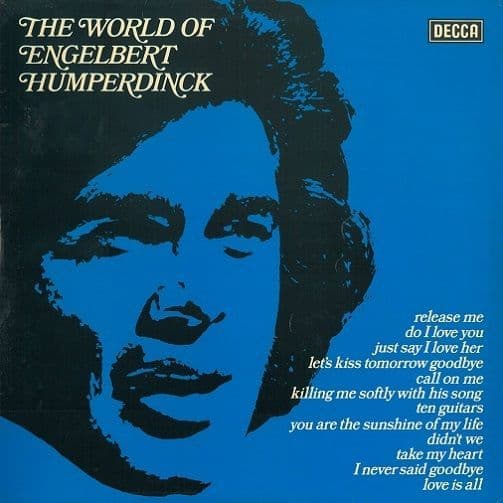ENGELBERT HUMPERDINCK The World Of Engelbert Humperdinck Vinyl Record LP Decca