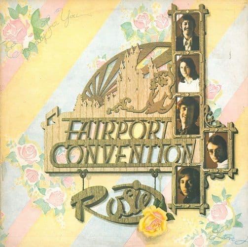FAIRPORT CONVENTION Rosie Vinyl Record LP Island 1973