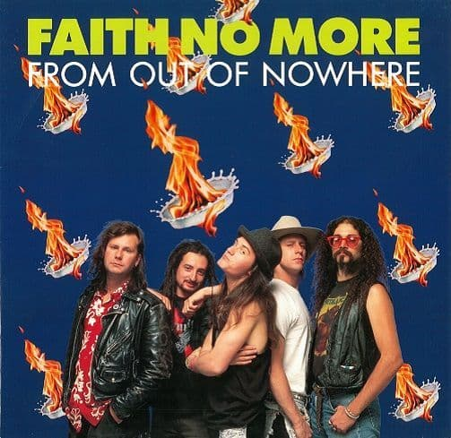 FAITH NO MORE From Out Of Nowhere Vinyl Record 12 Inch London 1990