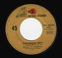 FLEETWOOD MAC The Green Manalishi Vinyl Record 7 Inch French Reprise 1970