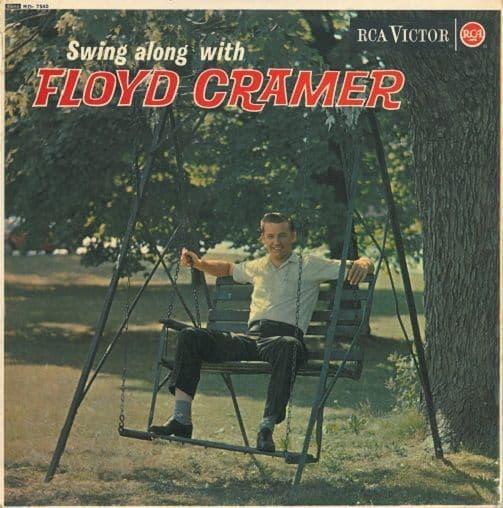 FLOYD CRAMER Swing Along With Floyd Cramer Vinyl Record LP RCA Victor 1963