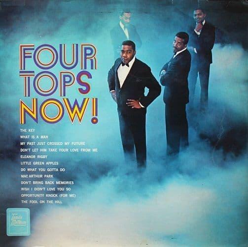 FOUR TOPS Four Tops Now Vinyl Record LP Tamla Motown 1969