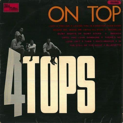 FOUR TOPS Four Tops On Top Vinyl Record LP Tamla Motown 1966