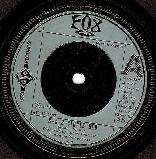 FOX S-S-S-Single Bed Vinyl Record 7 Inch GTO 1976