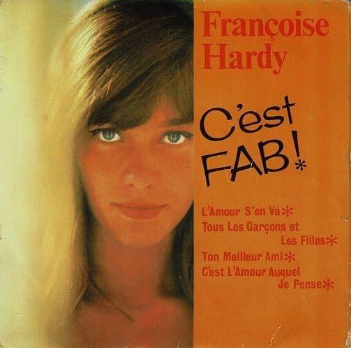 FRANCOISE HARDY C'est Fab EP Vinyl Record 7 Inch Pye 1964.