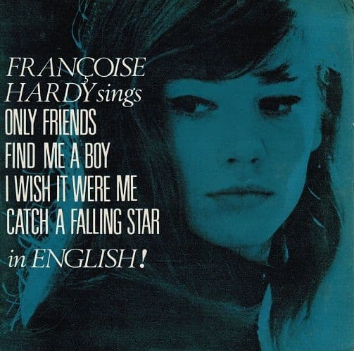 FRANCOISE HARDY Francoise Hardy Sings In English EP Vinyl Record 7 Inch Pye 1964