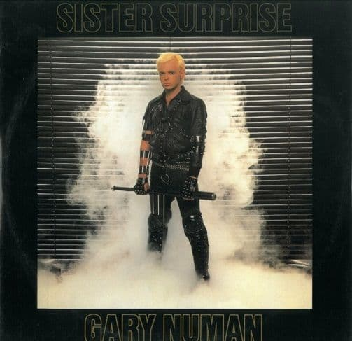 GARY NUMAN Sister Surprise (Extended Version) Vinyl Record 12 Inch Beggars Banquet 1983