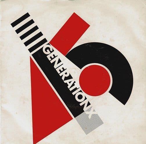 GENERATION X Your Generation Vinyl Record 7 Inch Chrysalis 1977