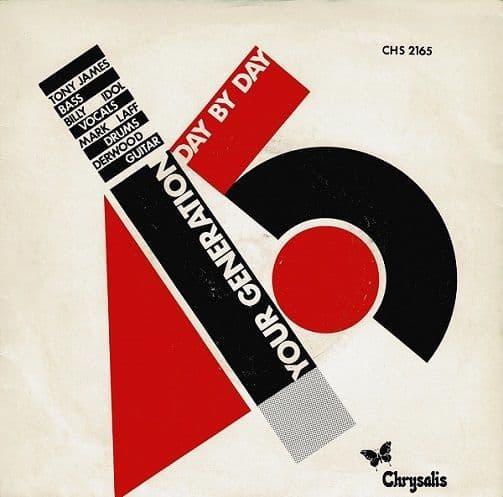 GENERATION X Your Generation Vinyl Record 7 Inch Chrysalis 1977.