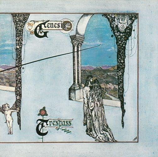 GENESIS Trespass Vinyl Record LP Charisma 1972