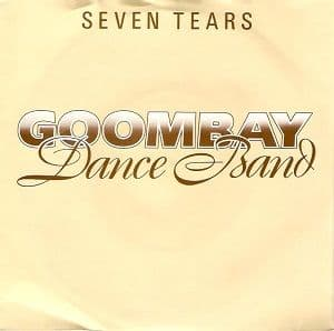 GOOMBAY DANCE BAND Seven Tears Vinyl Record 7 Inch Epic 1981