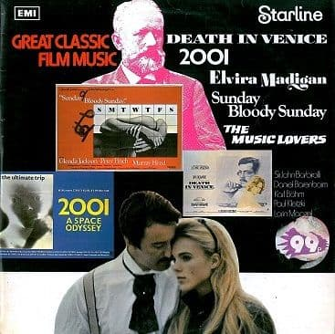 Great Classic Film Music LP Vinyl Record Album 33rpm Starline 1972