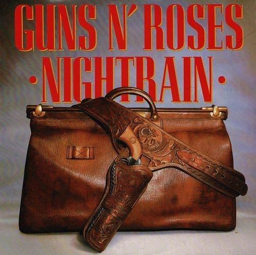 GUNS N' ROSES Nightrain Vinyl Record 7 Inch Geffen 1989