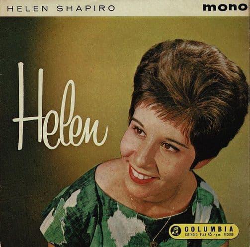 HELEN SHAPIRO Helen EP Vinyl Record 7 Inch Columbia 1961.