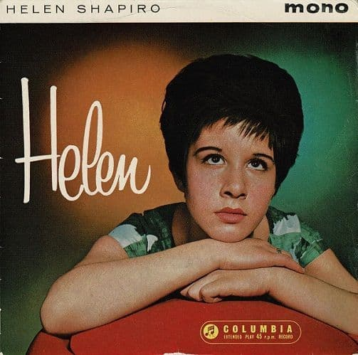 HELEN SHAPIRO Helen EP Vinyl Record 7 Inch Columbia 1961...