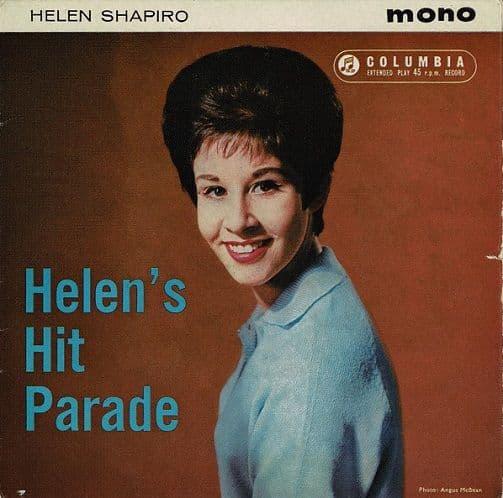 HELEN SHAPIRO Helen's Hit Parade EP Vinyl Record 7 Inch Columbia 1961