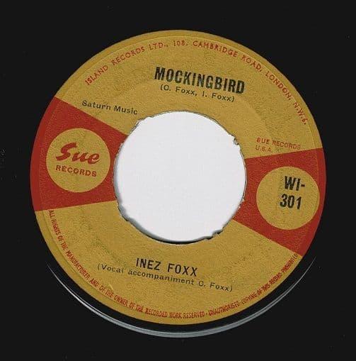 INEZ FOXX Mockingbird Vinyl Record 7 Inch Island 1963