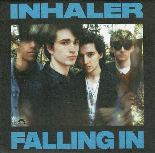 INHALER Falling In Vinyl Record 7 Inch Polydor 2020 Blue Vinyl