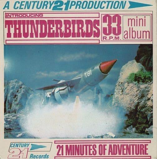 Introducing The Thunderbirds Vinyl Record 7 Inch Century 21 1965
