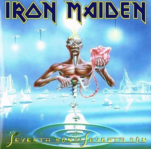 IRON MAIDEN Seventh Son Of A Seventh Son Vinyl Record LP Parlophone 2014