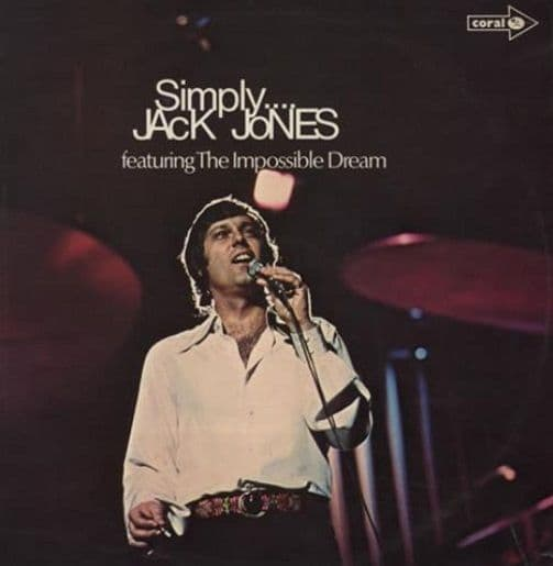 JACK JONES Simply....Jack Jones LP Vinyl Record Album 33rpm Coral 1972