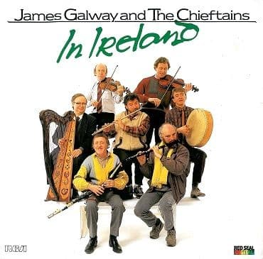 JAMES GALWAY AND THE CHIEFTAINS In Ireland LP Vinyl Record Album 33rpm RCA Red Seal 1987