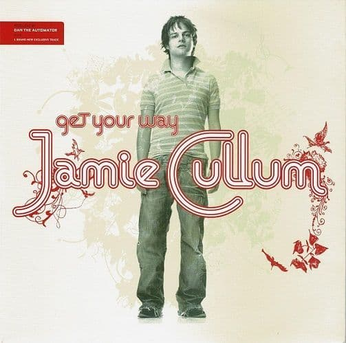 JAMIE CULLUM Get Your Way Vinyl Record 7 Inch Universal 2005 Red Vinyl