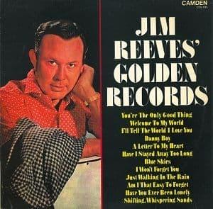 JIM REEVES Golden Records Vinyl Record LP RCA Camden