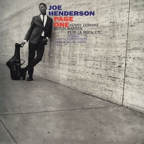 JOE HENDERSON Page One Vinyl Record LP Blue Note 2017