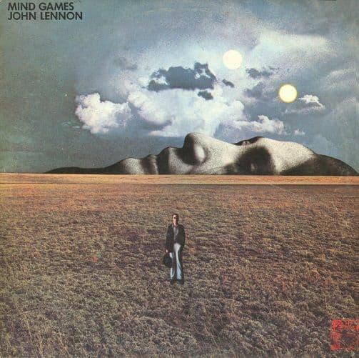 JOHN LENNON Mind Games Vinyl Record LP Apple 1973