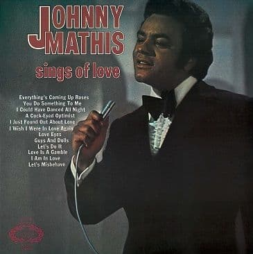 JOHNNY MATHIS Sings Of Love LP Vinyl Record Album 33rpm Hallmark 1971