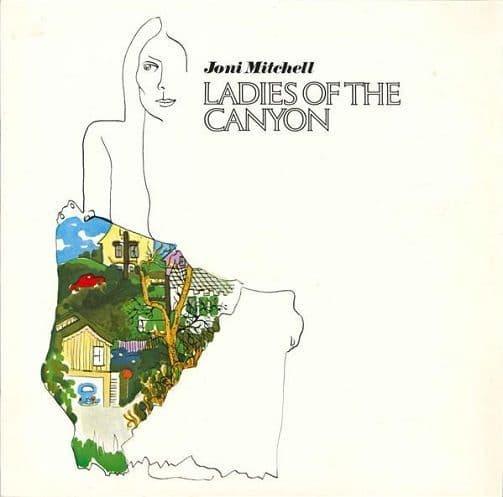 JONI MITCHELL Ladies Of The Canyon Vinyl Record LP Reprise
