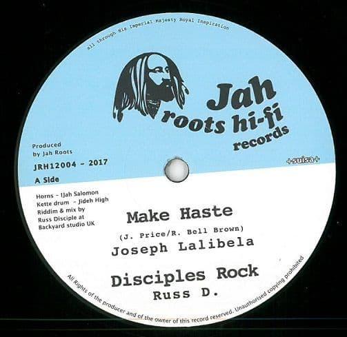 JOSEPH LALIBELA Make Haste Vinyl Record 12 Inch Jah Roots Hi-Fi 2017