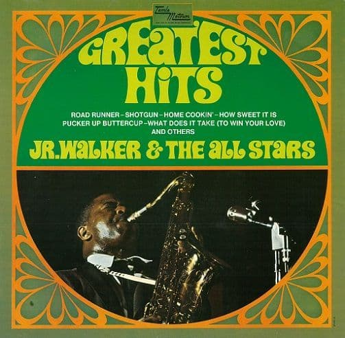 JR. WALKER AND THE ALL STARS Greatest Hits Vinyl Record LP German Tamla Motown 1984