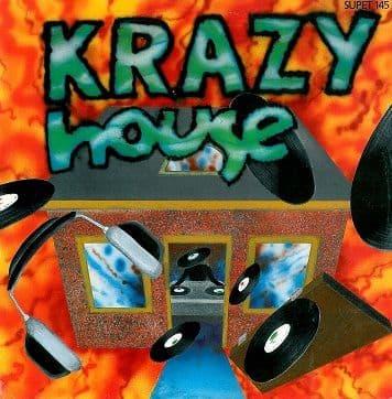 "KRAZY HOUSE Krazy House 12"" Single Vinyl Record Supreme 1989"