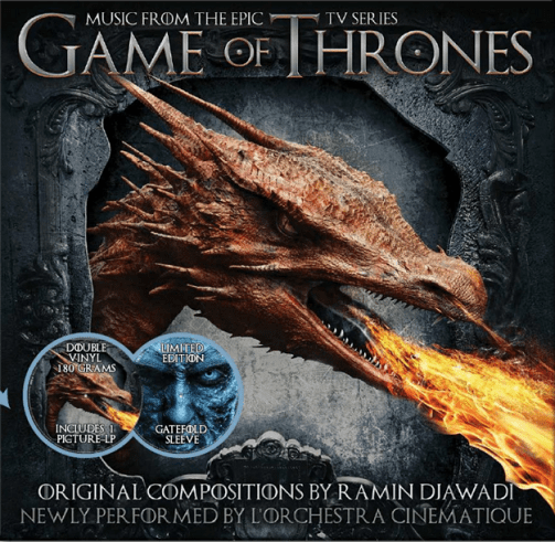 L'ORCHESTRA CINEMATIQUE Game Of Thrones Vinyl Record LP Musicbank 2019 Picture Disc