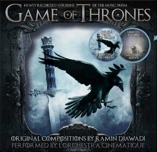 L'ORCHESTRA CINEMATIQUE Game Of Thrones Volume 2 Vinyl Record LP Musicbank 2019 Picture Disc