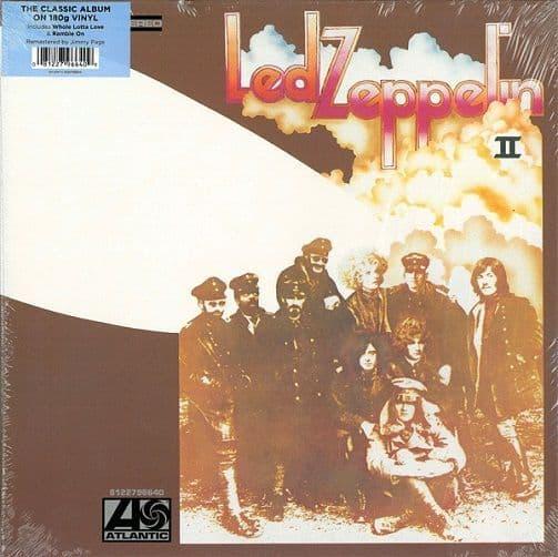 LED ZEPPELIN Led Zeppelin II Vinyl Record LP Atlantic 2014