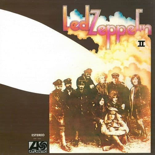 LED ZEPPELIN Led Zeppelin II Vinyl Record LP Mexican Atlantic Aquamarine Vinyl