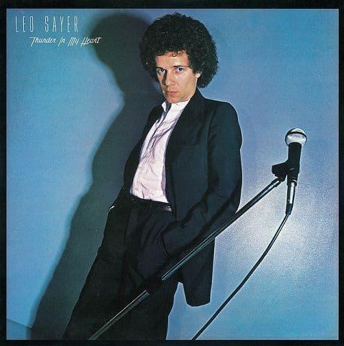 LEO SAYER Thunder In My Heart Vinyl Record LP Chrysalis 1977