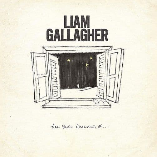 LIAM GALLAGHER All You're Dreaming Of Vinyl Record 12 Inch Warner 2020 White Vinyl