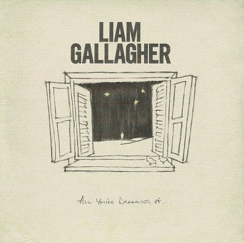 LIAM GALLAGHER All You're Dreaming Of Vinyl Record 7 Inch Warner 2020