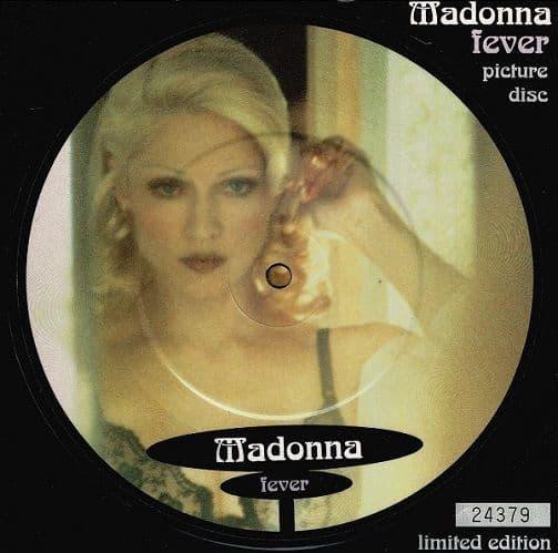 MADONNA Fever Vinyl Record 7 Inch Maverick 1993 Picture Disc