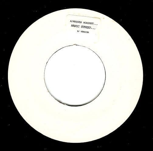 MANIC STREET PREACHERS The Masses Against The Classes Vinyl Record 7 Inch Epic 2000 Promo