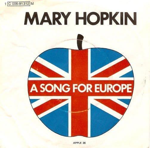 MARY HOPKIN Knock, Knock Who's There Vinyl Record 7 Inch German Apple 1970