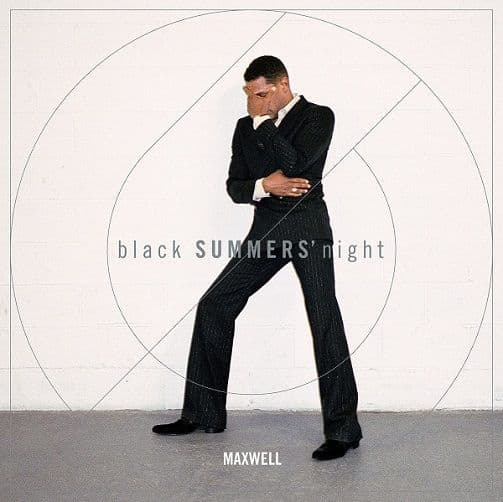 MAXWELL blackSUMMERS'night Vinyl Record LP Columbia 2016