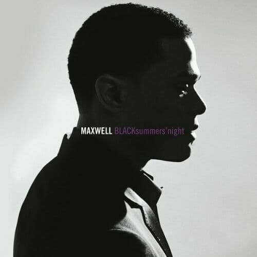 MAXWELL BLACKsummers'night Vinyl Record LP Columbia 2016 Silver Vinyl